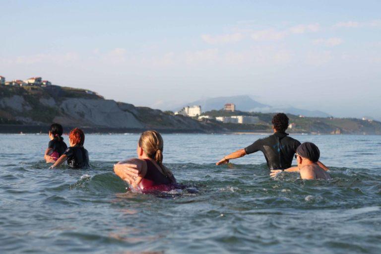 Marche Aquatique l'eau au niveau des épaules
